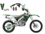 Комплект наклеек KXF450 16-17 Monster Energy 2015