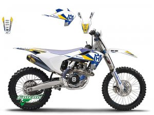 Комплект наклеек Blackbird Dream 3 Graphic Kit Husqvarna TC/FC, TE/FE