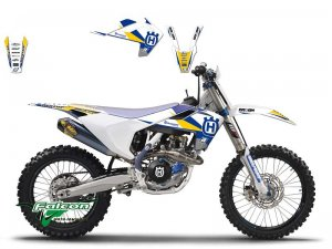 Комплект наклеек Blackbird Dream 3 Graphic Kit Husqvarna TC85
