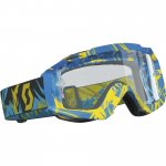 Hustle MX Enduro Strobe Blue/yellow