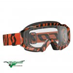 Hustle MX Enduro Black/Fluo orange
