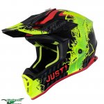J38 Mask Yellow-Red