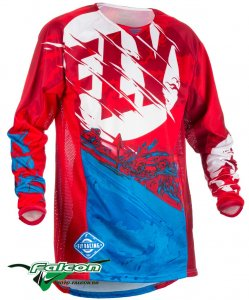 Джерси Fly Kinetic Outlaw Red/Blue