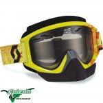 Recoil Xi Pro Snowcross Scribble Green/orange