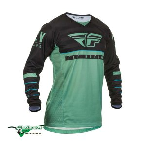 Джерси Fly Kinetic K120 Sage Green/Black